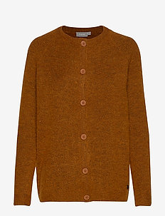 FREMALLY 3 Cardigan - GINGER BREAD MELANGE
