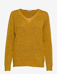FREMALLY 4 Pullover - truien - autumn blaze melange