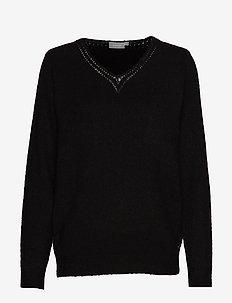 FREMALLY 4 Pullover - BLACK