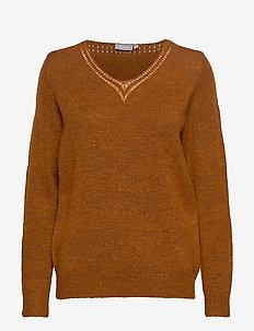 FREMALLY 4 Pullover - GINGER BREAD MELANGE