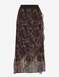 FREMROSE 2 Skirt - jupes midi - ginger bread mix