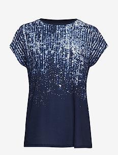 FREMCAOS 1 T-shirt - GRAPHIC - MARITIME BLUE MIX