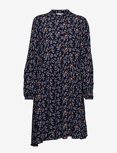 FRESCOUNTRY 3 Dress - BLACK MIX