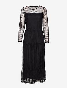 FREMESH 1 Dress - BLACK
