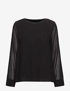 Zawov 7 Blouse - BLACK
