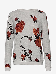 FRFISOFT 1 Top - FLOWER - GREY W. PICANTE