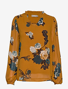 FRFAPLEAT 1 Blouse - CATHAY SPICE MIX
