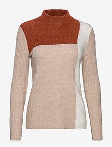 FRFIBLOCK 2 Pullover - PICANTE MELANGE
