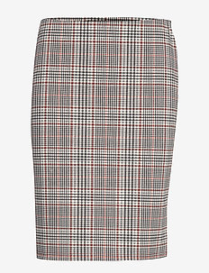 FRFICHECK 2 Skirt - midinederdele - picante mix