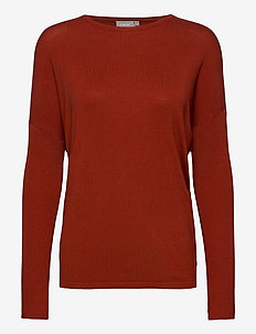 ZUVIC 175 Pullover - jumpers - barn red