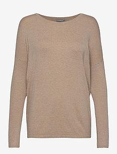 ZUVIC 175 Pullover - trøjer - beige melange