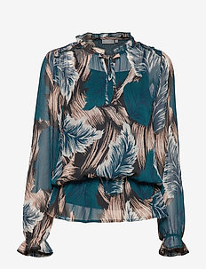 FRGAFEATHER 2 Blouse - REFLECTING POND MIX