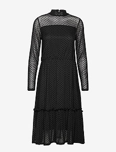 FRGIMESH 2 Dress - BLACK MIX