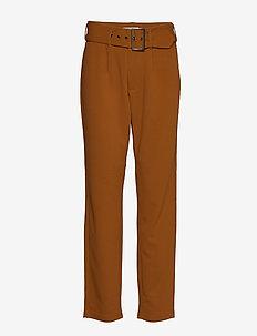 FRGISUIT 1 Pants - bukser med lige ben - caramel café