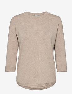 ZUBASIC 109 Pullover - trøjer - beige melange