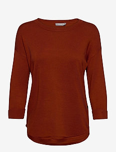 ZUBASIC 109 Pullover - trøjer - burnt henna