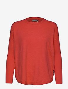 ZUGANIC 11 Pullover - HOT CORAL