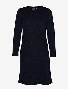FRFINEW 3 Dress - sukienki do kolan i midi - maritime blue mel