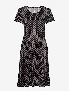 FRITDOT 1 Dress - korte jurken - black mix