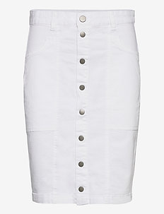 FRIVTWILL 4 Skirt - midi skjørt - white