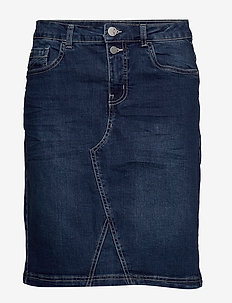 FRIVSTITCH 2 Skirt - spódnice do kolan i midi - simple blue denim