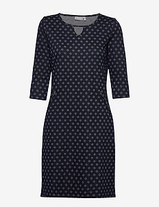 FRHIDOTLY 1 Dress - midi jurken - dark peacoat mix