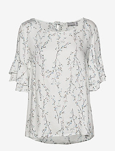 FRIPARTY 10 Blouse - blouses korte mouwen - antique mix