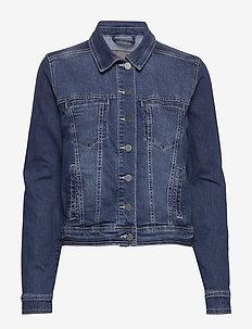 FRIVSTITCH 1 Jacket - denim jackets - simple blue denim