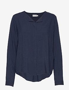 FRHAZAVISK 1 Shirt - (NOOS) DARK PEACOAT