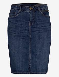 FRJOZOZA 1 Skirt - jeanskjolar - metro blue denim