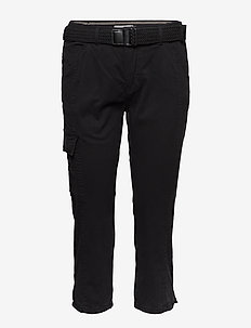 FRJOCAMO 1 Pants - slim fit bukser - black