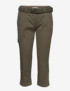 FRJOCAMO 1 Pants - slim fit bukser - hedge