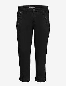 FRJOTWILL 1 Capri - capri bukser - black