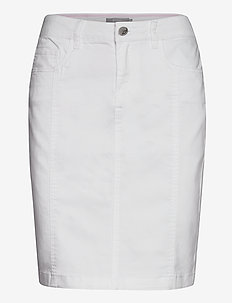 FRJOTWILL 3 Skirt - short skirts - white