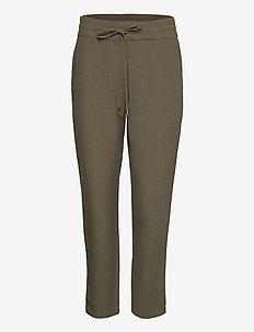 FRJAHAY 2 Pants - broeken med straight ben - hedge