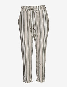 FRJAHAY 2 Pants - straight leg trousers - hedge mix