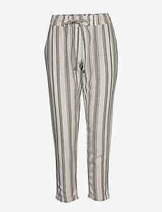 FRJAHAY 2 Pants - bukser med lige ben - hedge mix