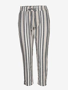 FRJAHAY 2 Pants - bukser med lige ben - navy blazer mix