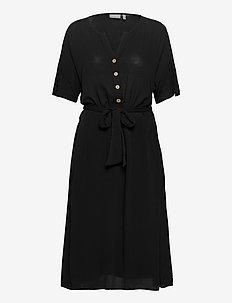 FRJASOFTY 6 Dress - midi jurken - black