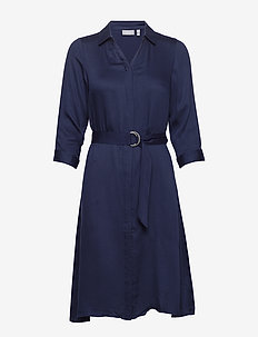 FRIPARTY 5 Dress - robes chemises - navy blazer