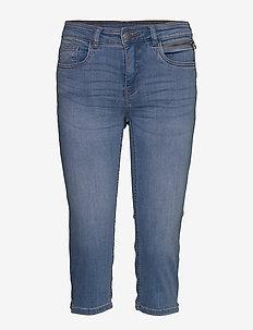 FRJOZOZA 3 Jeans - jeansowe szorty - cool blue denim