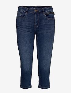 FRJOZOZA 3 Jeans - farkkushortsit - metro blue denim