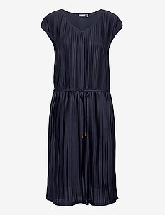 FRJEPLISSE 1 Dress - midi jurken - navy blazer