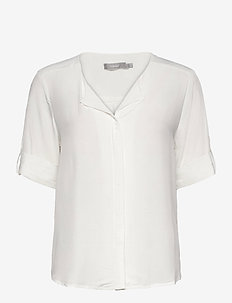 FRHAZAVISK 2 Shirt - short-sleeved blouses - antique