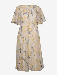 FRIPCHIFLOW 1 Dress - midi jurken - whitecap gray mix