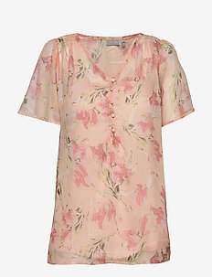 FRIPCHIFLOW 3 Blouse - blouses korte mouwen - english rose mix