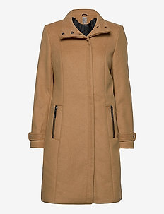 FRLAWOOLY 1 Outerwear - wool coats - chipmunk