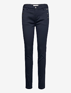 FRLOMAX 1 Pant - slim fit trousers - dark peacoat