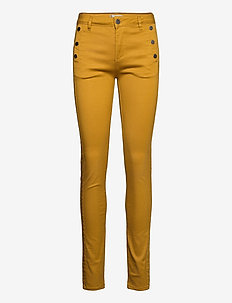 FRLOMAX 1 Pant - slim fit trousers - harvest gold