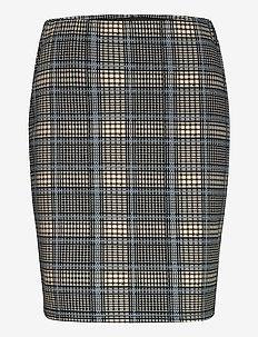 FRLECHECK 2 Skirt - midi skirts - della robbia blue mix